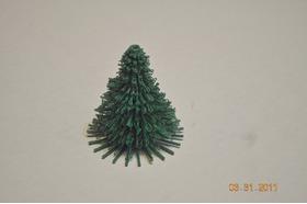 3D打印的松树模型